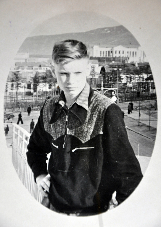 Вадик Аникеев, Магадан, 1957 год.