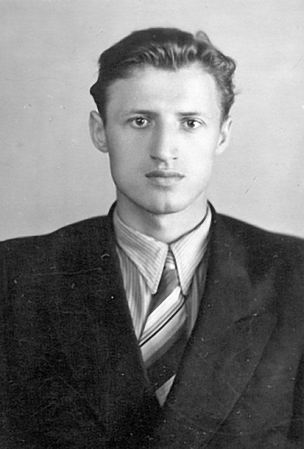 Мой супруг Виктор Носолюк, Владивосток, 1957 год.