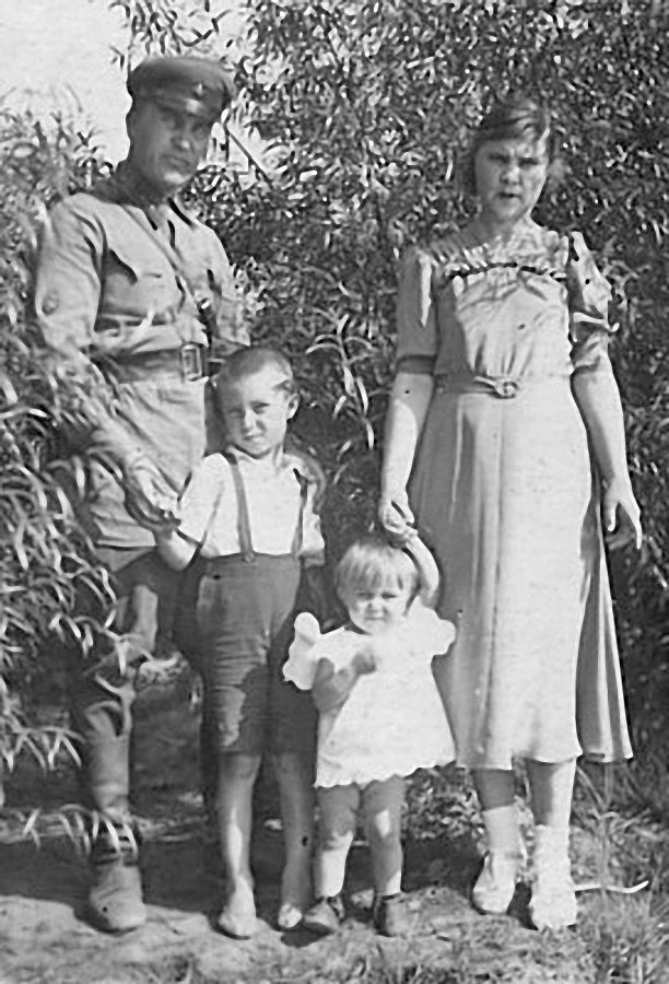 Посёлок Оротукан, июнь 1942 год.