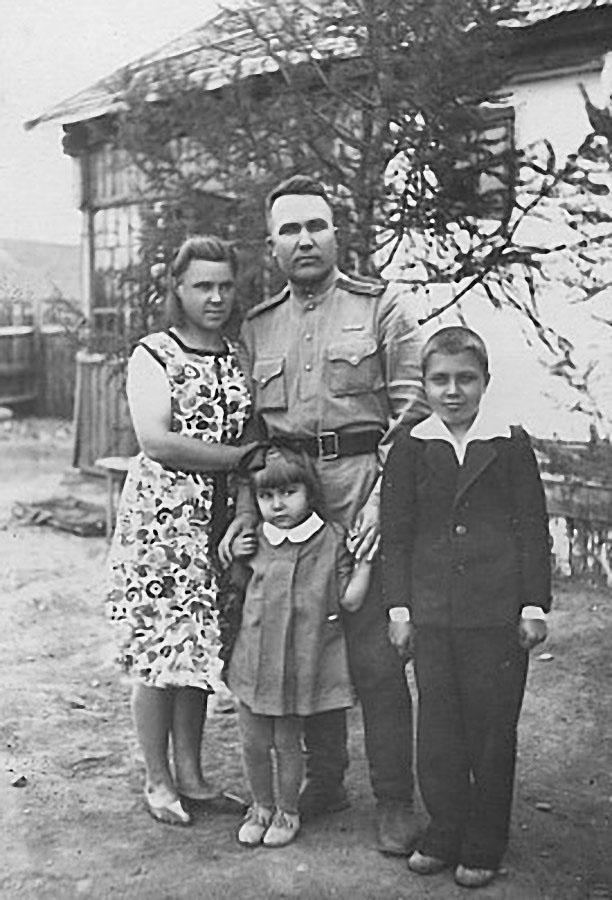 Посёлок Сусуман, 1945 год.