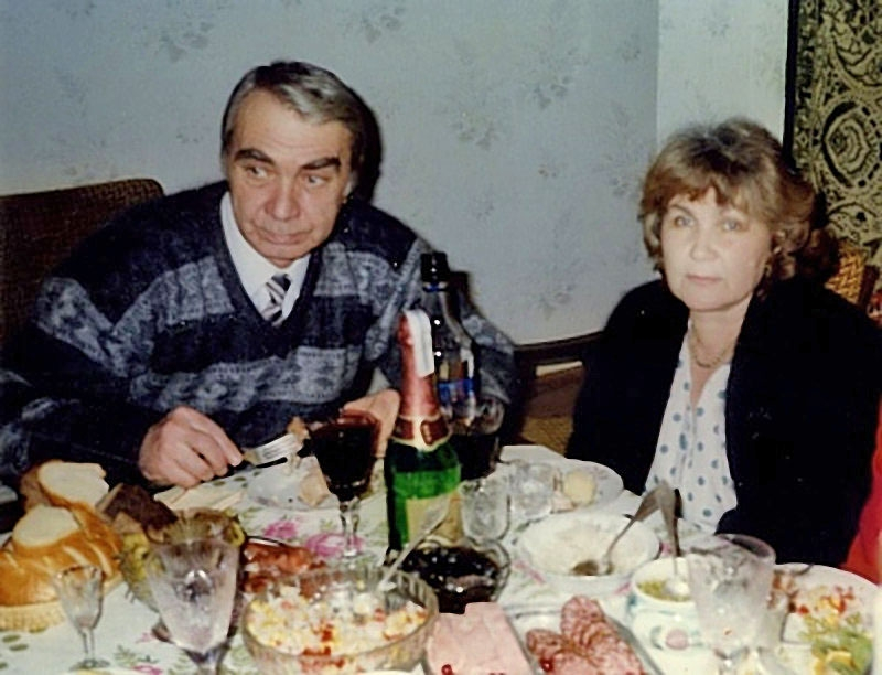 Последний снимок с братом Гесей. Москва, 2001 год.