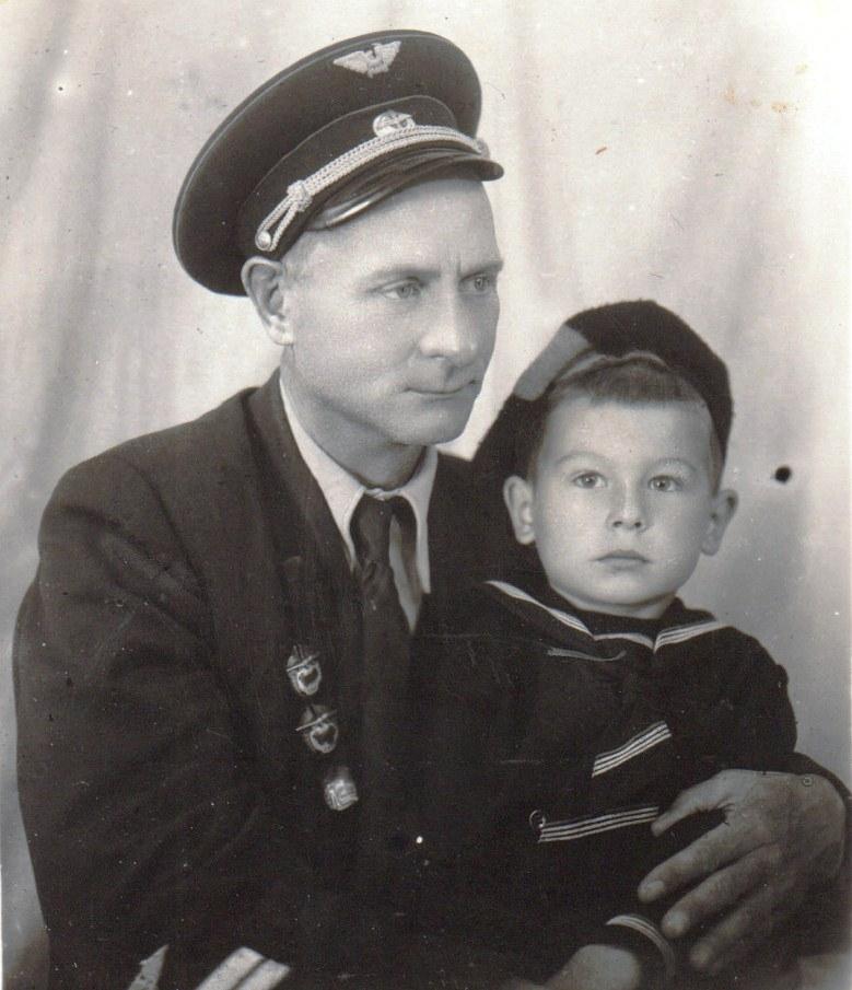 Отец и сын Бухонины.