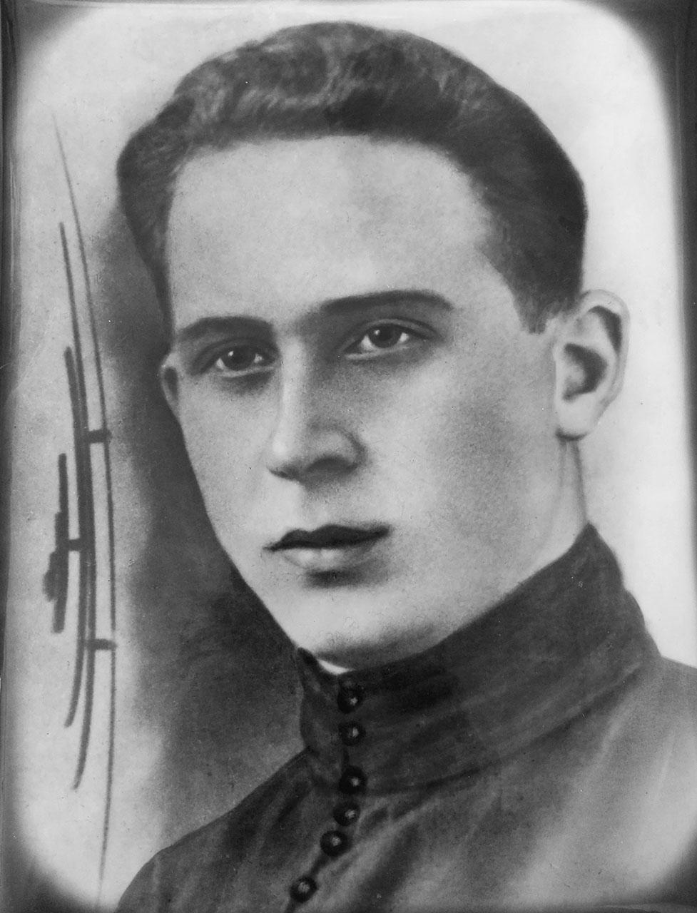 Абрам Исакович Геренштейн. 30-е годы ХХ-го века.