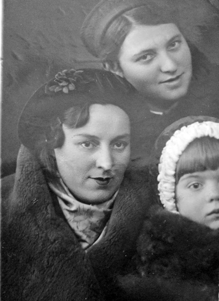 Елена Геренштейн с дочерью.