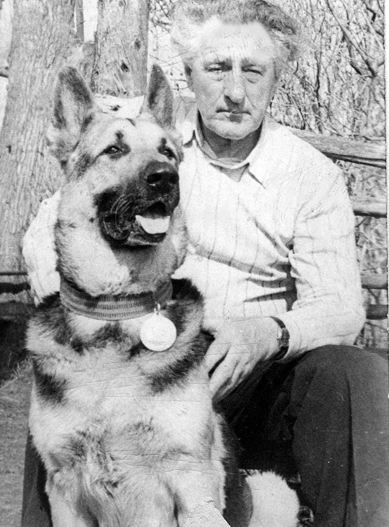 Валериан Лаломов с Артуром. Из архива Александра Лаломова.