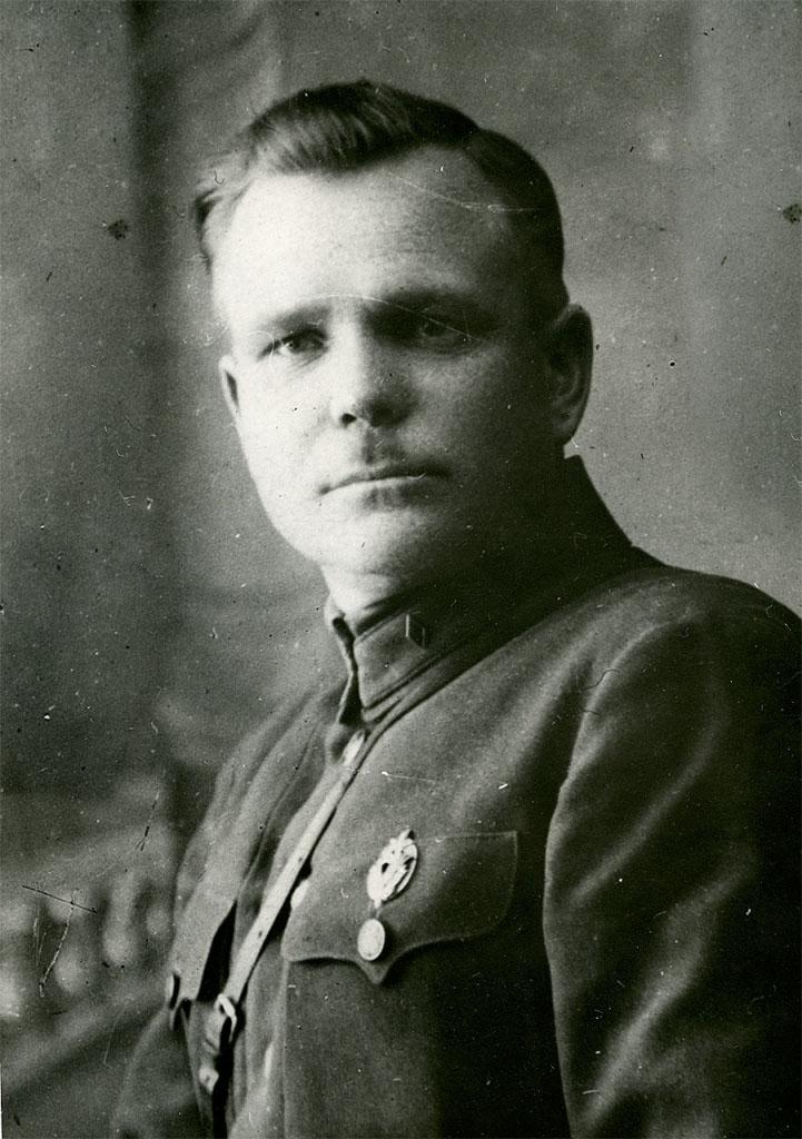 Начальник 41 Нахичеванского пограничного отряда Никишов Иван Федорович. 1922 год