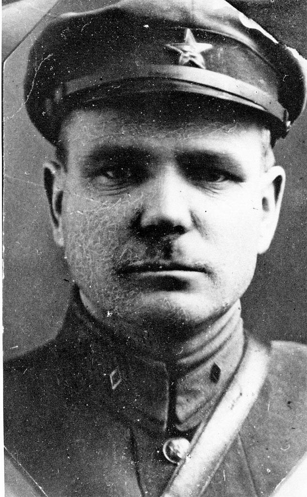 Начальник 41 Нахичеванского пограничного отряда Никишов Иван Федорович. 1929 год