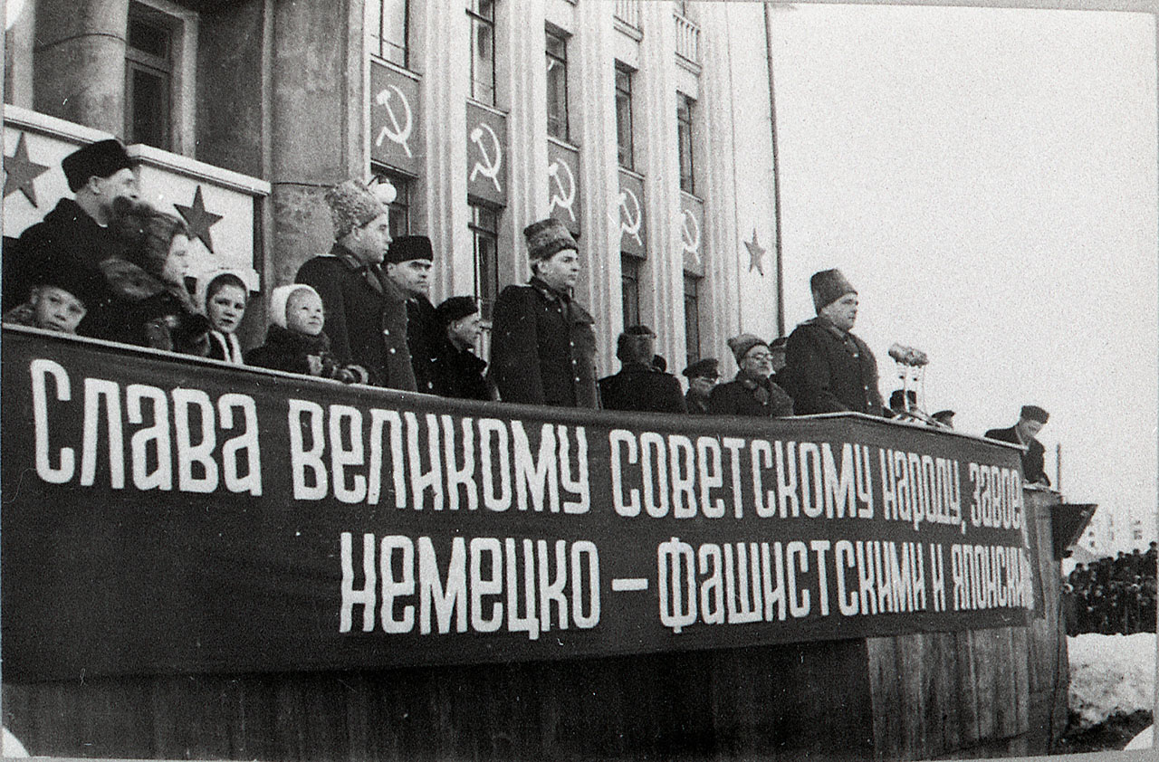 Выступление Никишова И.Ф. на митинге.