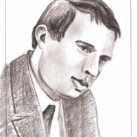 Портрет Черевченко (рис. В.Фентяжева, 2013).