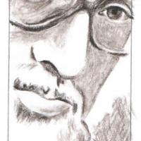 Эдидович М.Д. - портрет работы В. Фентяжева.
