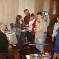 Олефир С.М. с читателями.