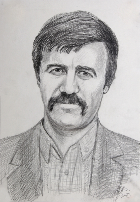 Портрет Севрюкова Н,Н. (Рис. Михаила Меринова)