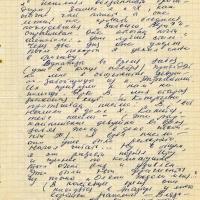 Письмо от Тынескина к Пчёлкину. 3 страница.