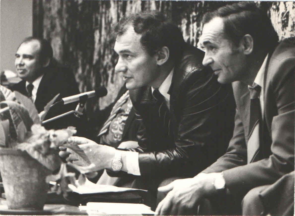 Пчёлкин, Черевченко, Поволяев. 1984 год.