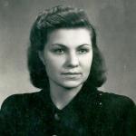 Выпускница института Н.А. Плахова, 1952 г. Такой она прибыла в Магадан