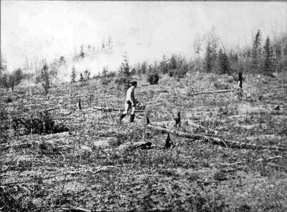 Июль 1973 года. лесные пожары в Сусуманском районе.