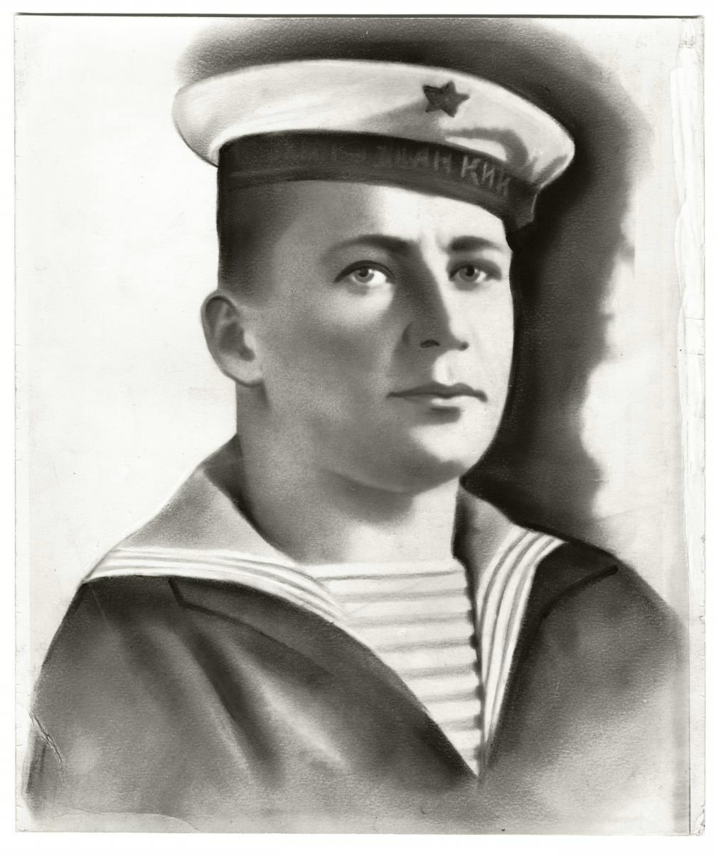 Старшина 1 статьи плавбазы «Север» Вилков Николай Александрович.