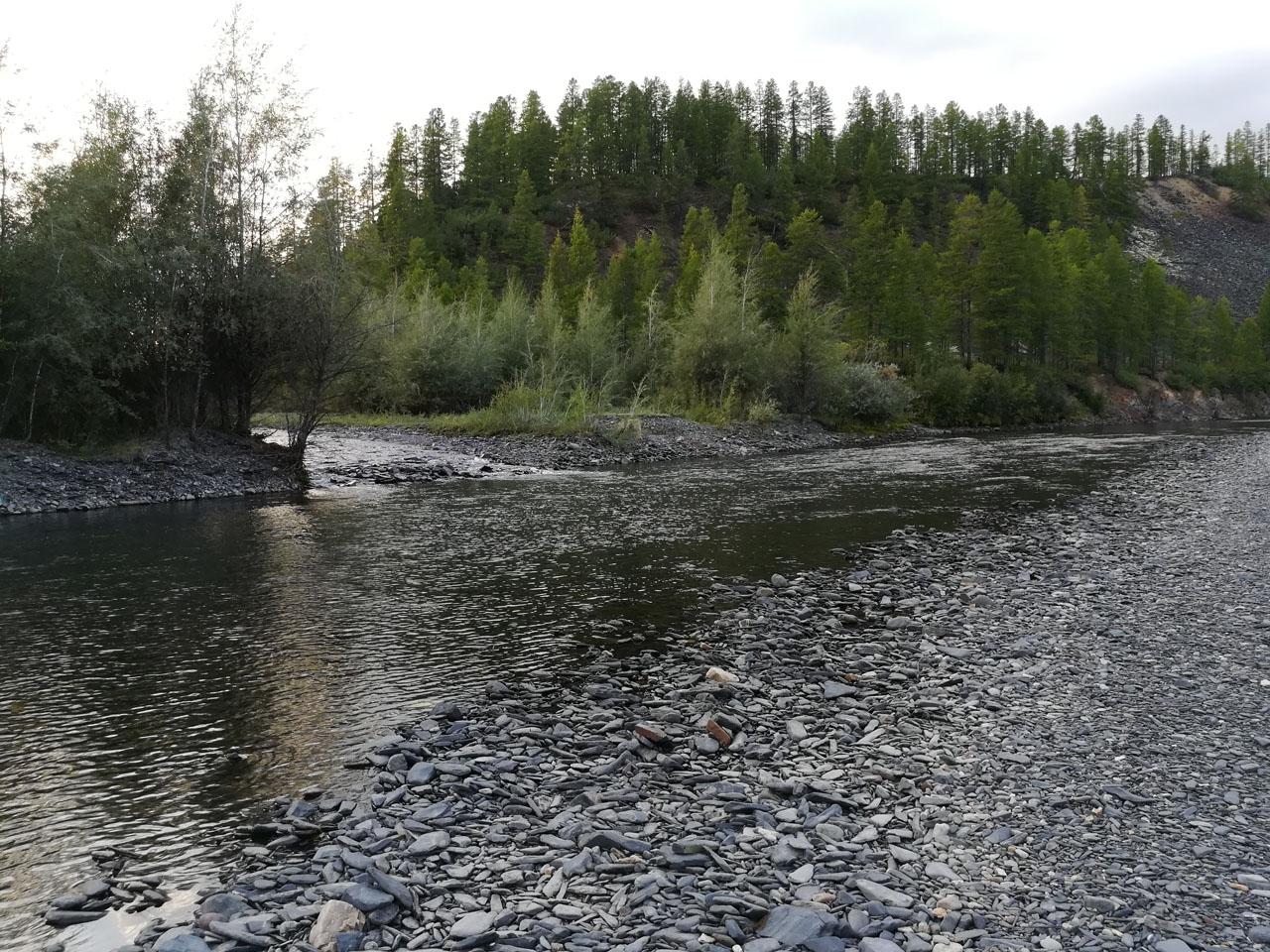 Слияние реки Нил и реки Очисчан.