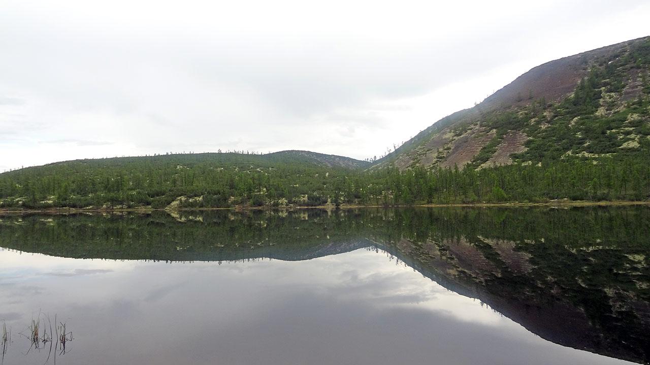 Озеро Голубое. Фото из архива Елены Полищук. 2018 год.