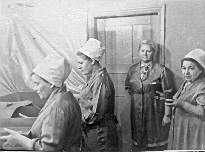 Прииск имени Гастелло. ЗПК-отдувка. 1960 год.