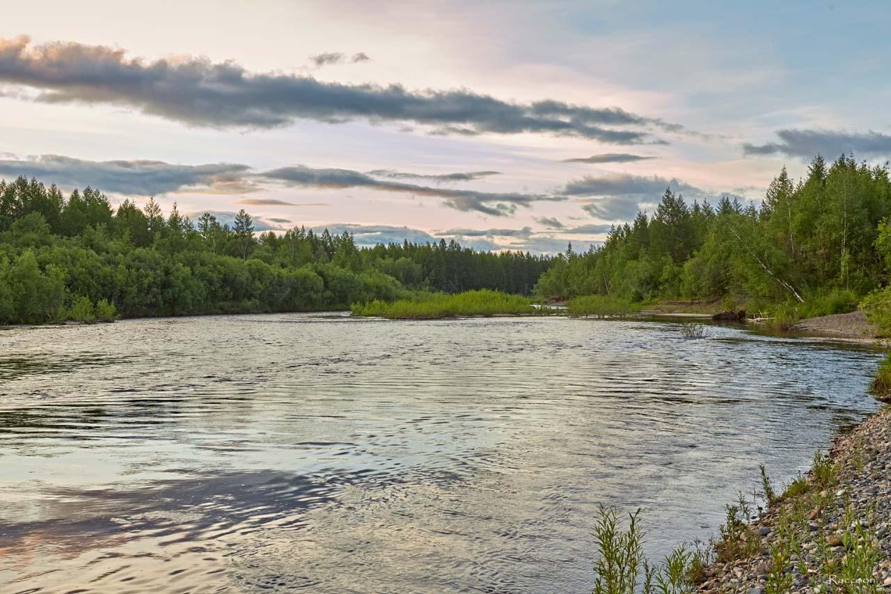 Река Эльген.