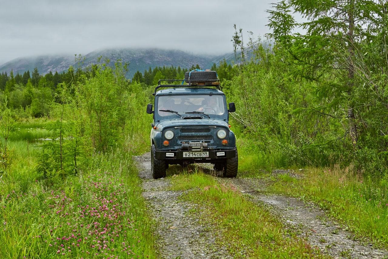 Заброшенными дорогами по Магаданской области. 2017 год.