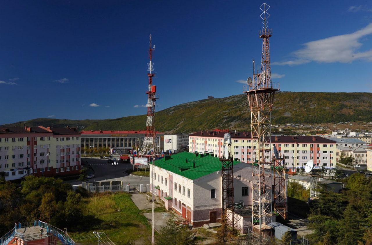 Магаданского телецентр