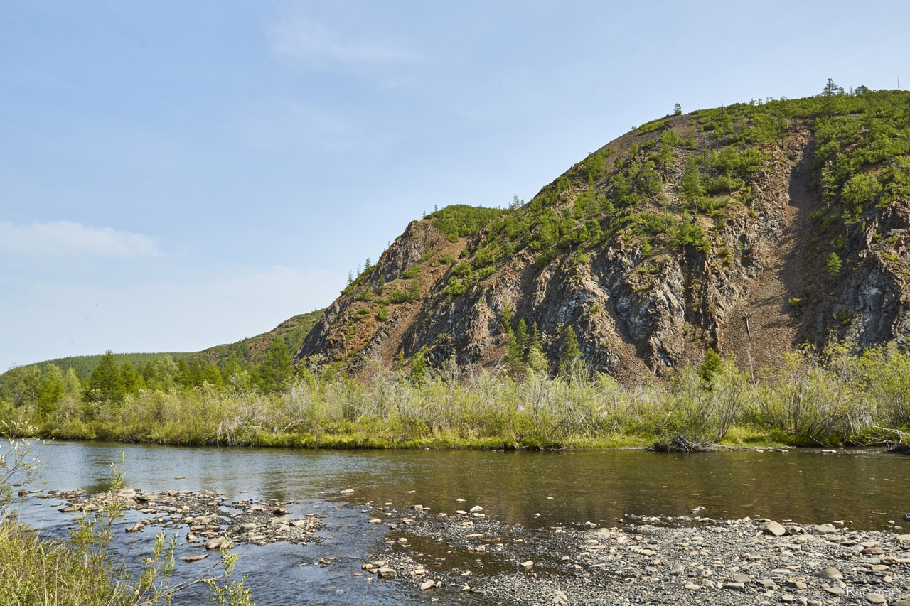 Утро на реке Нерючи.