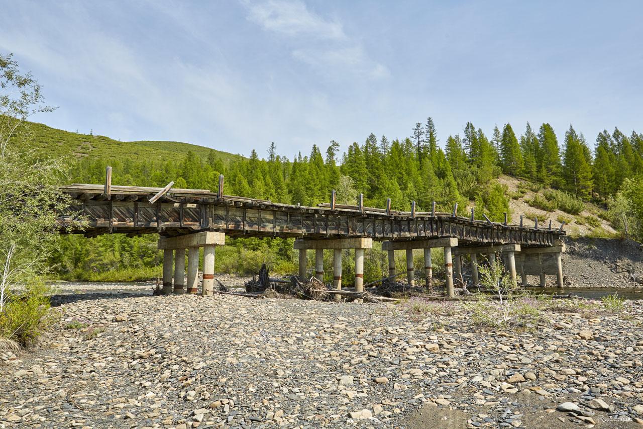 Мост времен позднего Дальстроя.