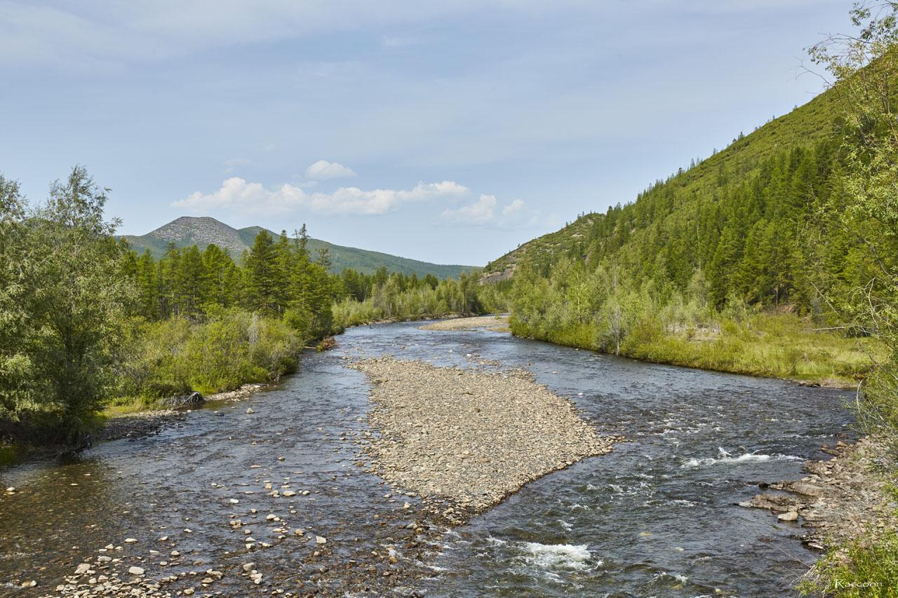 Река Нерючи.
