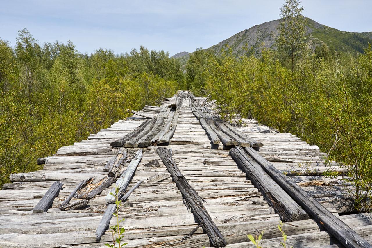 Мост времён Дальстроя.