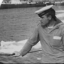 Член экипажа С-140 Владимир Гавриленко.