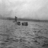 С-176 на бочке в бухте Броутон, июль 1978 года