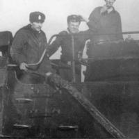 На рубке С-176. Знак «Отличная подводная лодка»