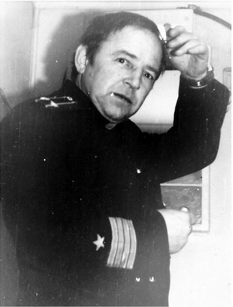Командир подводной лодки С-176 Игорь Исакович Блюменсон