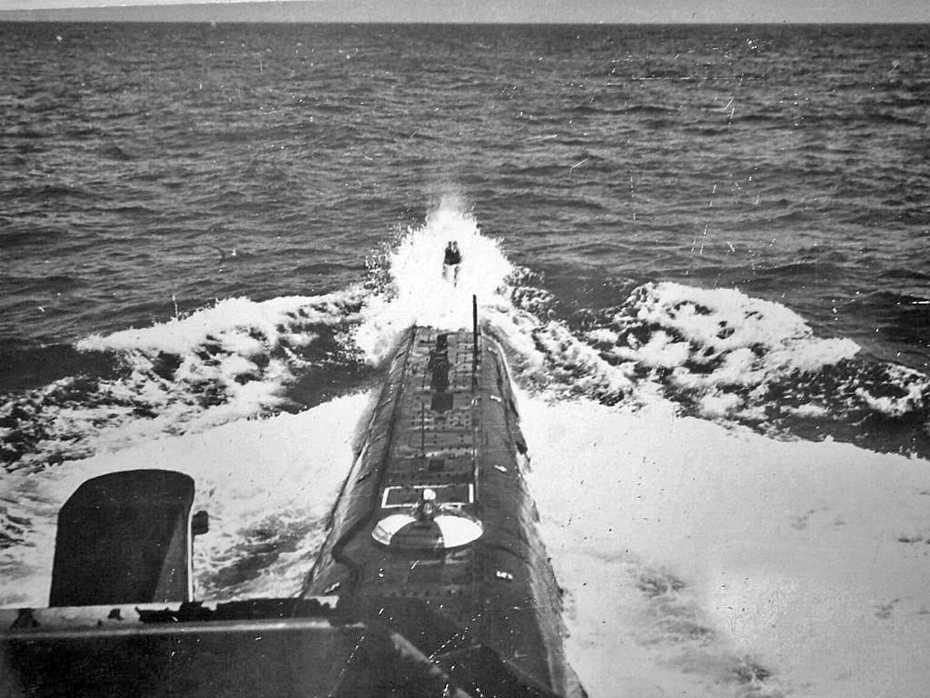 С-176 в море.