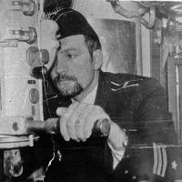 Командир с 1982 года С-198 Рысаков.