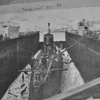 ПЛ С-198 в доке.
