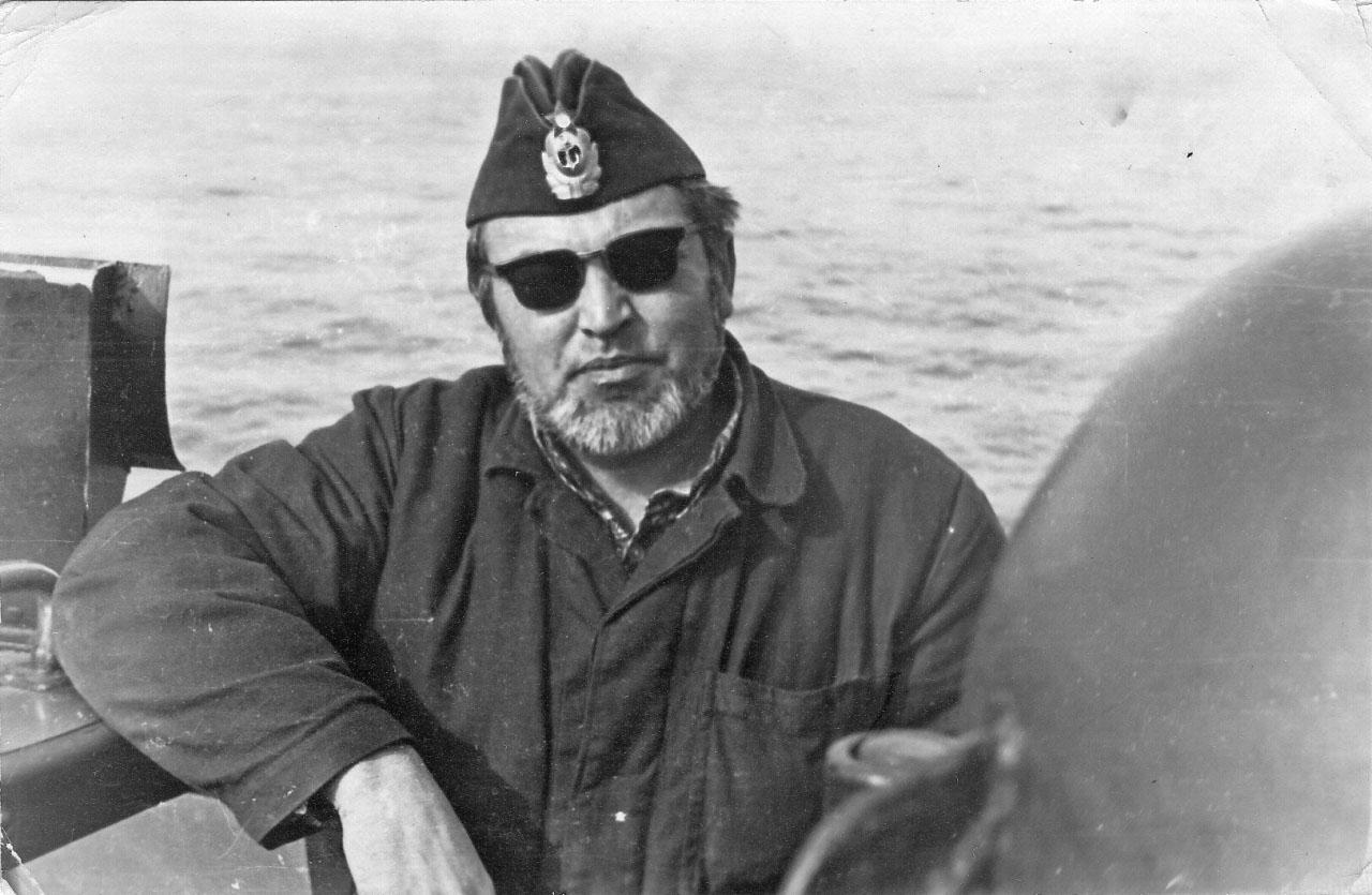 С-220. Командир лодки капитан 3 ранга Ермолов