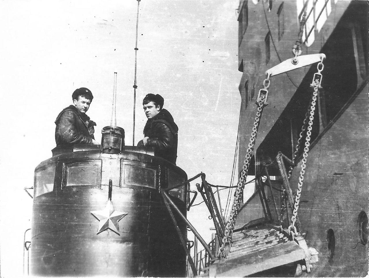 C-221. Зимовка в Ракушке, 1980-1981 года.