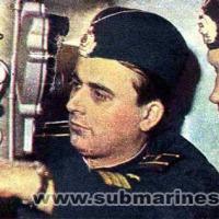 С-224. Командир пл кап. 3 ранга Кухар В.Г. и СПК кап. л-т Сысуев Ю.Н. 1975 год, июль.