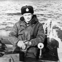 С-263. Командир БЧ-5 Вахренев.