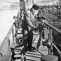 С-263 в доке на ремонте. Советская Гавань. 1971 год. Геннадий Номоконов Гена с Ангарска.