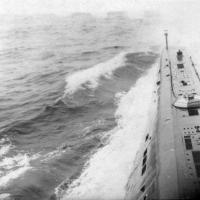 С-263 переход, в Охотском море. 1969 год.