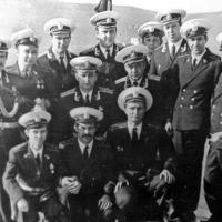 Экипаж С-286. День ВМФ, Магадан. 1981год.