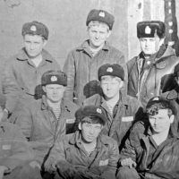 Экипаж С-286. Док, Камчатка. 1981 год.