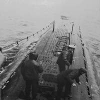С-286. Автономное плавание, 1981 год. Ловим рыбу на вечерний чай.
