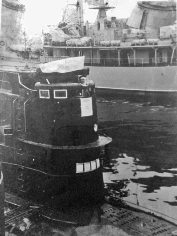 С-286 у пирса. Апрельский субботник. Камчатка. 1981 год.