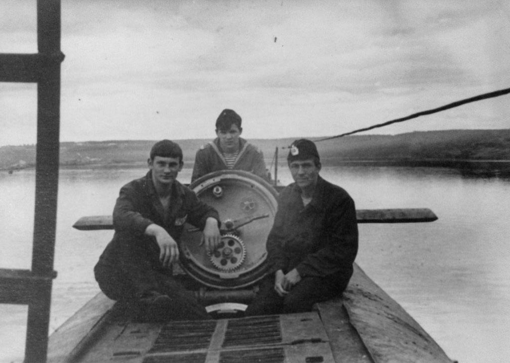 С-286. Советская Гавань в доке.1976 год.