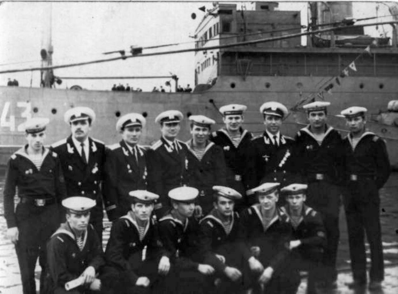 Экипаж С-286. Магадан. Июль 1968 года.